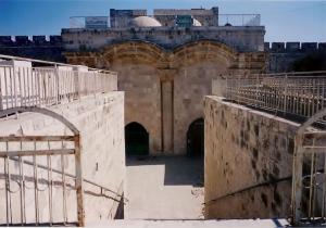 Sha'ar HaRachamim Temple Mount side